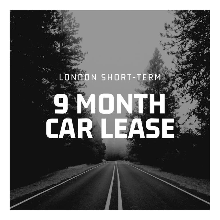 9 Month Car Lease