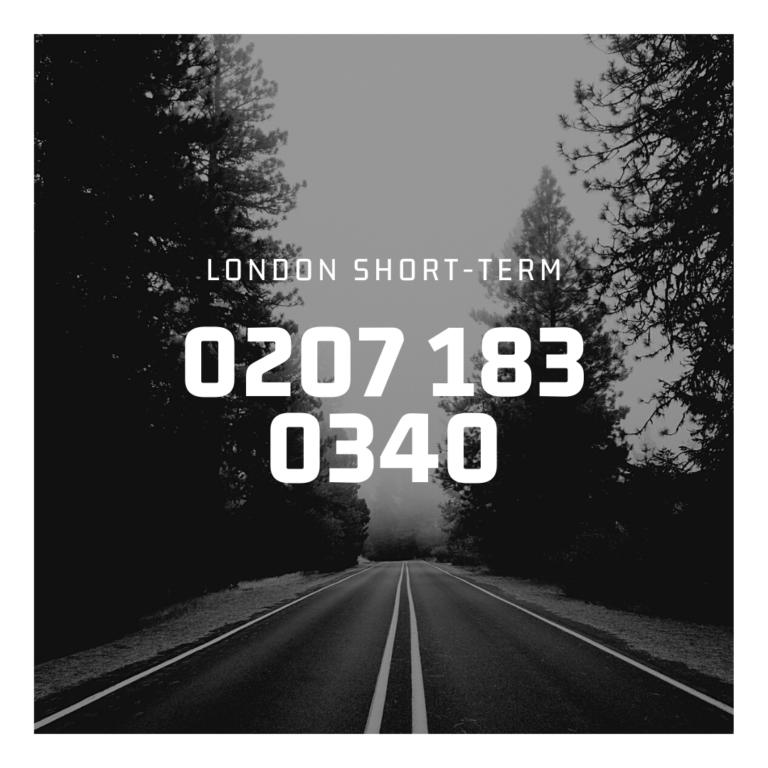 Call London Short-Term Cars on 0207 183 0340