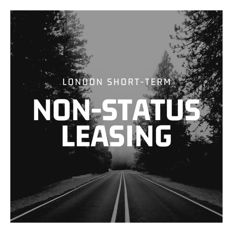 Non-Status Car Leasing in London