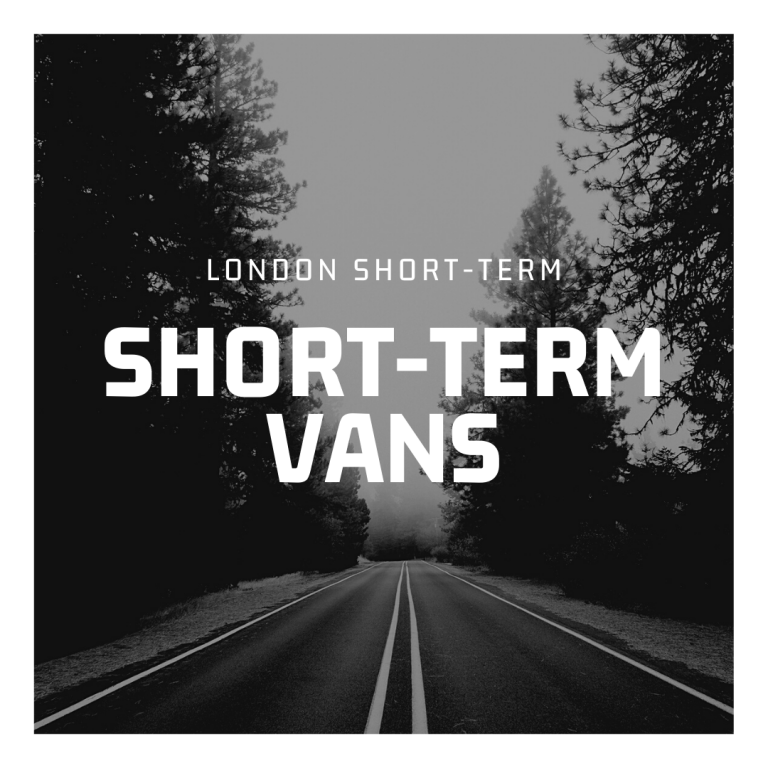 Short-Term Vans in London